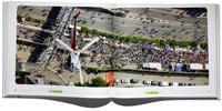 Ein Tag wie noch nie! A40 Stillleben Klartext Luftbilder Hans Blossey