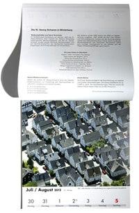 Schönes Sauerland 2012 Kalender 2012 Gieseking Bielefeld Luftbilder Hans Blossey