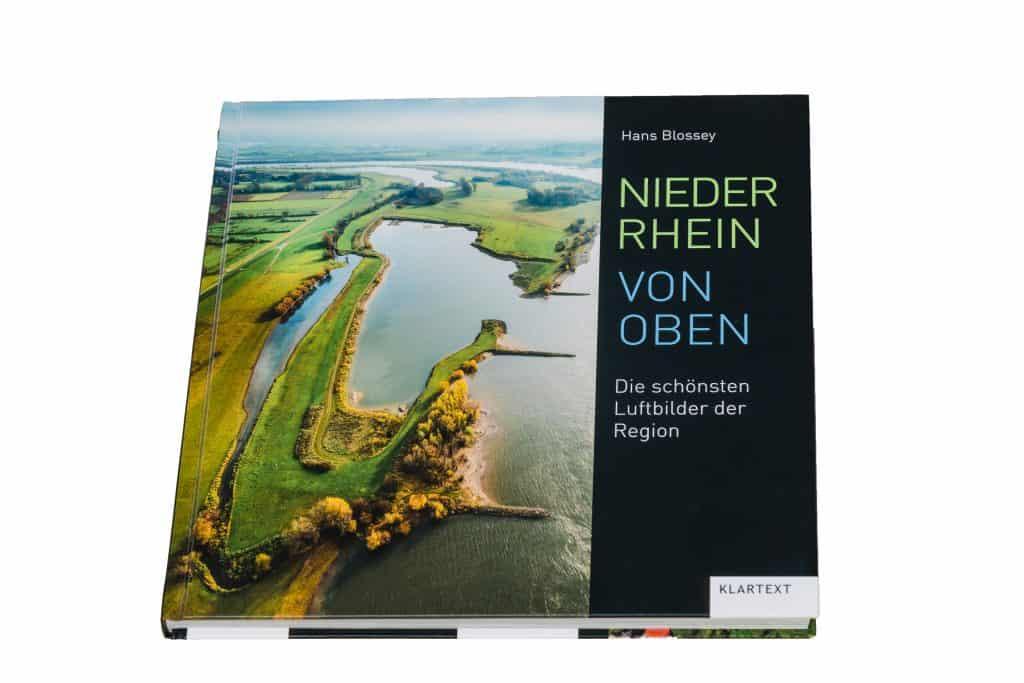 Niederrhein von Oben Bildband Luftbilder Hans Blossey