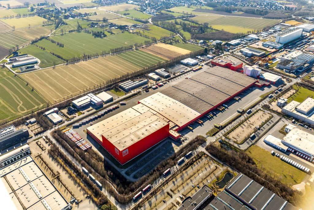 Kik Textilien und Non-Food GmbH Gewerbegebiet und Industriegebiet Westerbönen in Bönen in NRW
