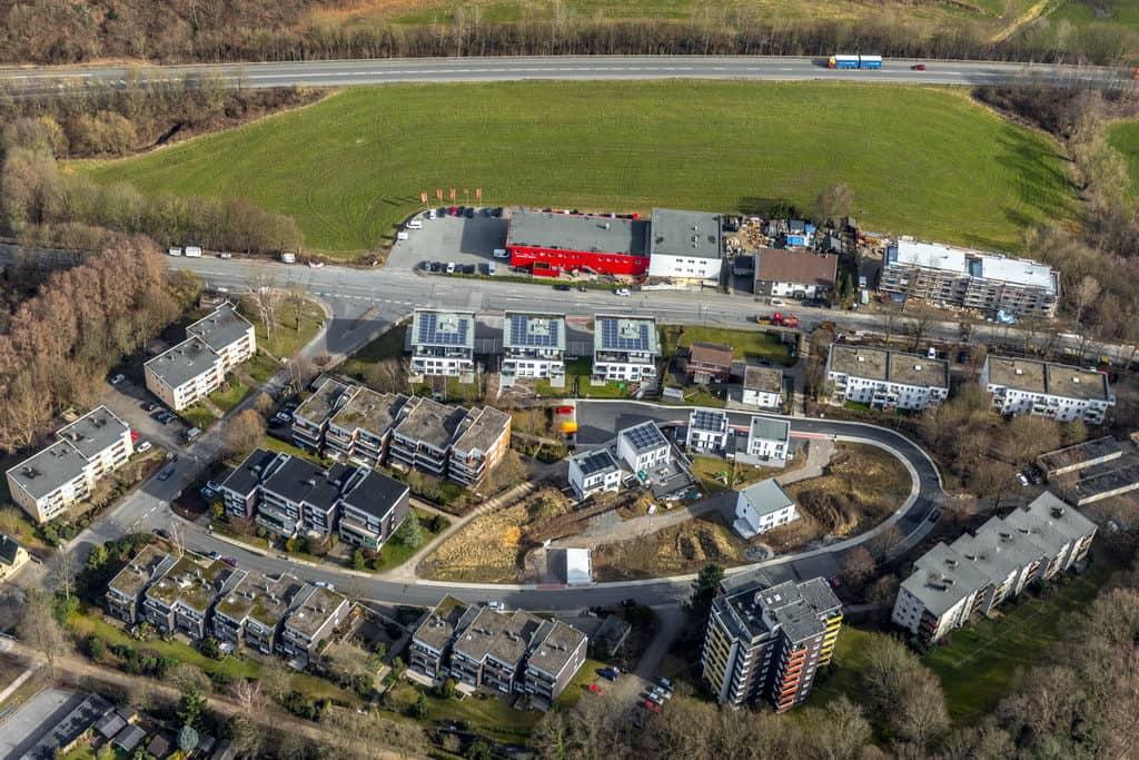Neubaugebiet Starenweg Hattinger Straße in Sprockhövel in Nordrhein-Westfalen