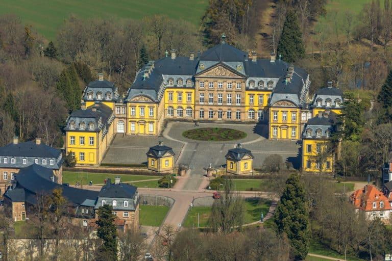 Residenzschloß Bad Arolsen, Schloss Bad Arolsen, Bad Arolsen, Landkreis Waldeck-Frankenberg, Hessen, Hessen, Deutschland