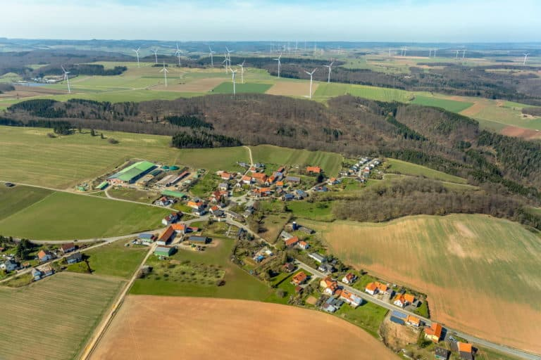 Helmscheid in Korbach. Kreisstadt Korbach, Landkreises Waldeck-Frankenberg in Hessen, Deutschland
