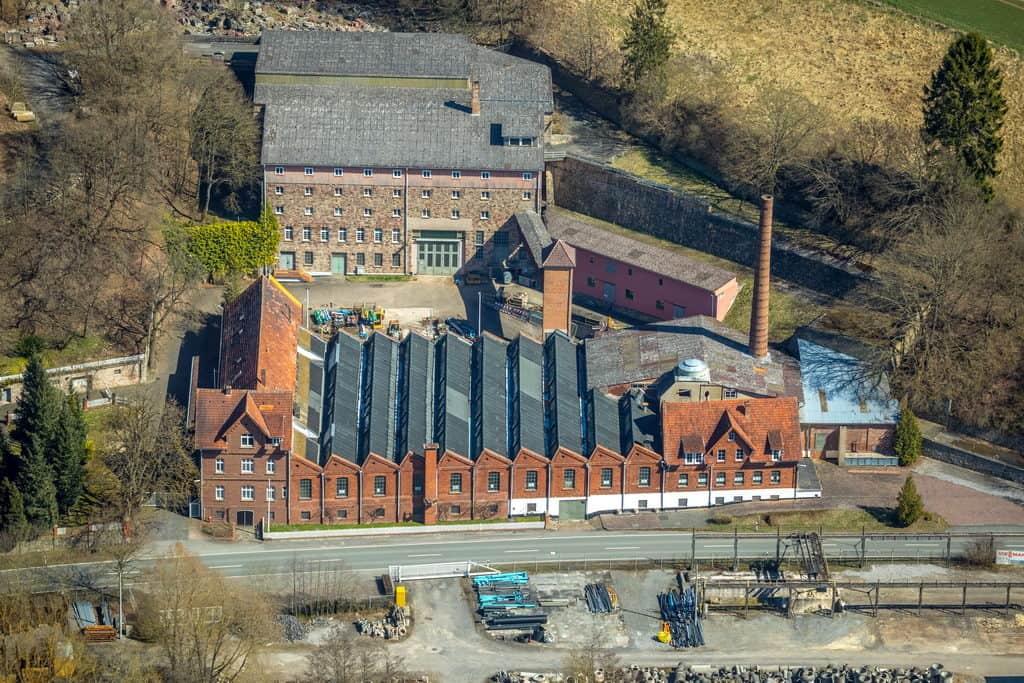 Fabrik Berggrund Twistetal, in Twistetal in Hessen