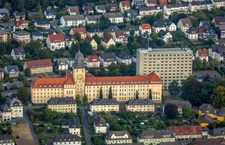 Arnsberg Luftbild Hans Blossey