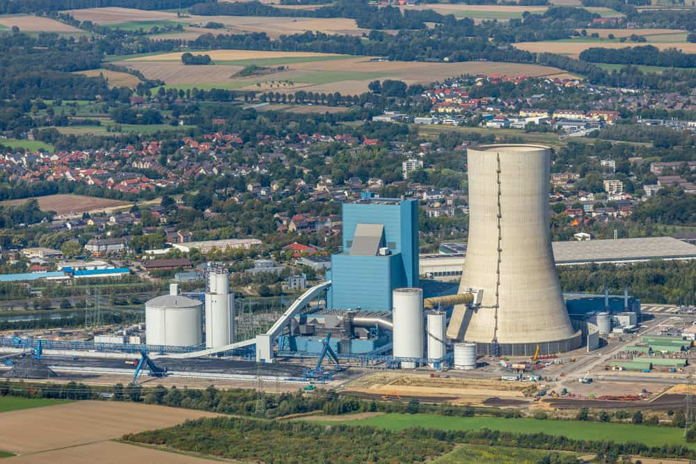 Datteln Kraftwerk Uniper Luftbild Hans Blossey