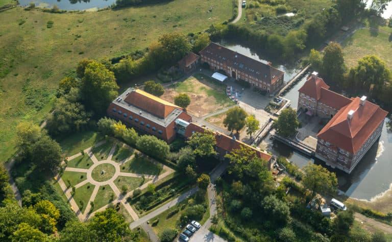 Hamm Schloss Oberwerries Luftbild Hans Blossey