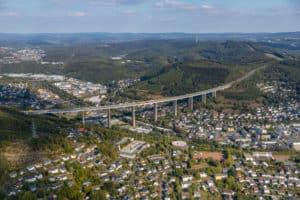 Siegen Eiserfeld Luftbild Hans Blossey
