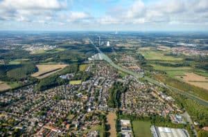 Werne Luftbild Hans Blossey