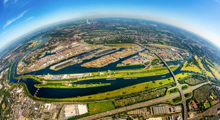 Luftbild Hans Blossey Duisburg