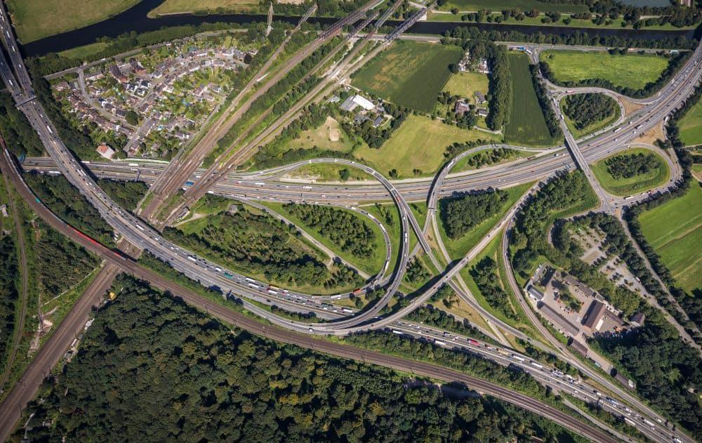 Duisburg Luftbilder Hans Blossey